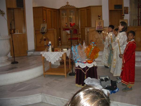 You are currently viewing Βάφτιση στον Ιερό Ναό του Αγίου Νεκταρίου
