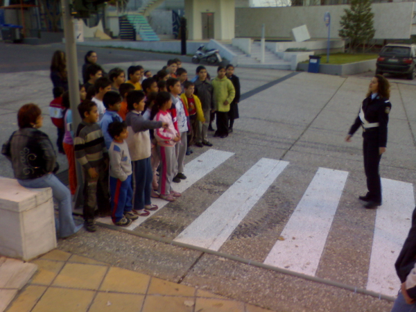 Read more about the article Εκδρομή στην ΔΕΘ, στο περίπτερο της Ελληνικής Αστυνομίας