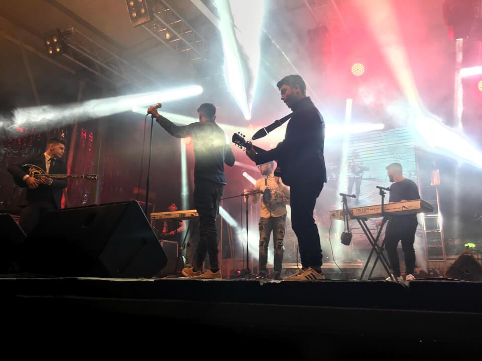 Η μουσικη μπάντα του Φάρου στην Ονειρούπολη Δραμας