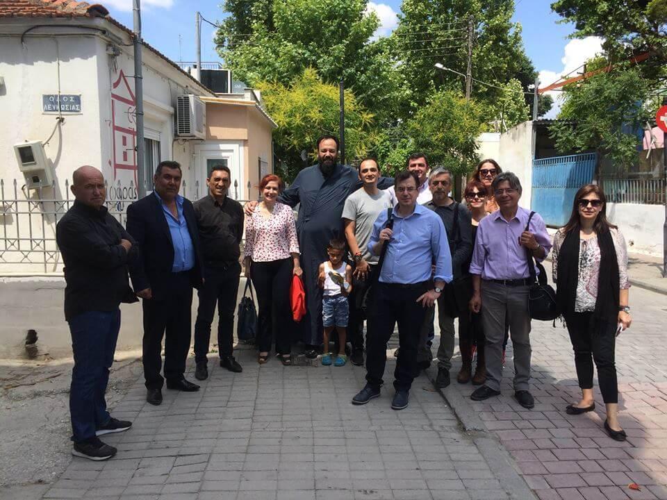 Η ειδική γραμματέας για την Κοινωνική Ένταξη των Ρομά στο σπίτι του Φάρου
