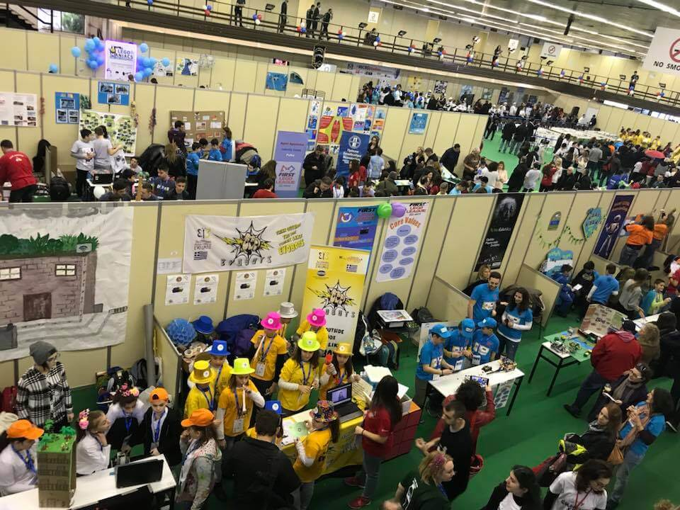 Read more about the article Robotic teams FARGBOTS and Rotators in FLL Robotic Fesitval.