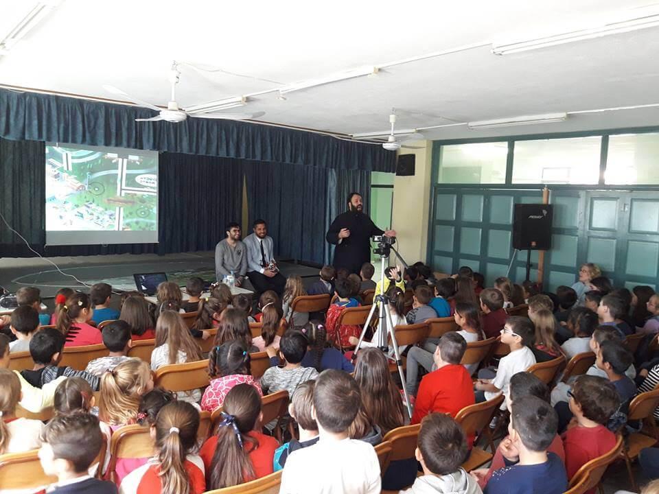 Επίσκεψη στο Δημοτικό σχολείο Καλοχωρίου