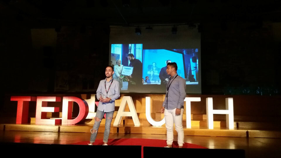 Faros tou kosmou and TEDxAUTH