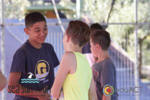 Μικροί Ρομά ρομποτιστές στην κατασκήνωση της eduACT